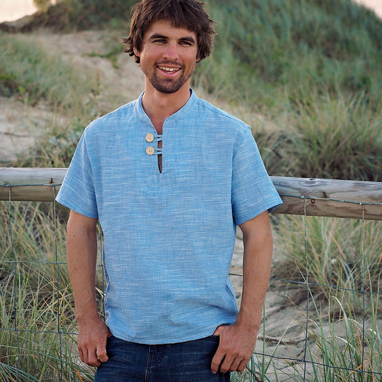 Customer Favourites - Men's Casual Breeze Shirt - PDF digital sewing pattern by Twig and Tale 5