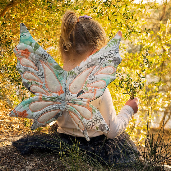 Woodland Sprite Fairy wings - PDF digital sewing pattern by Twig and Tale 9