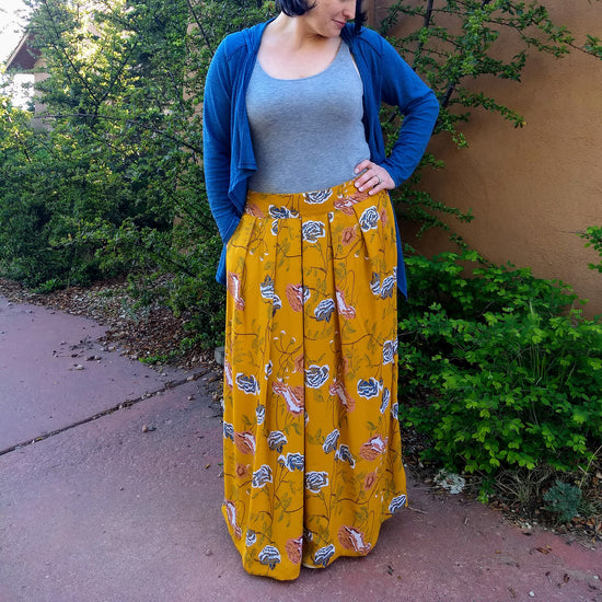 Meadow Skirt - PDF digital sewing pattern by Twig + Tale 16