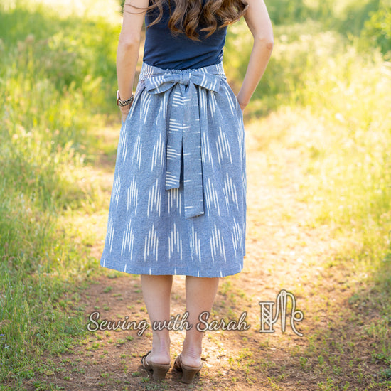 Meadow Skirt digital sewing pattern by Twig and Tale 10