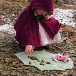 Doll Leaf Blanket - New Zealand leaves - PDF digital Sewing pattern by Twig + Tale 6