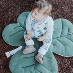 Shamrock Leaf Blanket digital PDF sewing pattern by Twig + Tale
