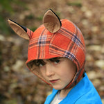 Boys fox hat digital PDF sewing pattern by Twig + Tale