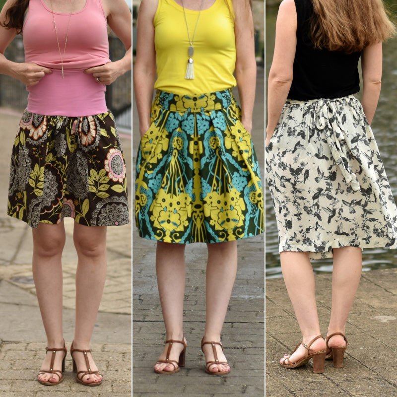 Meadow Skirt - PDF digital sewing pattern by Twig + Tale 27