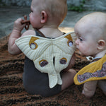 mini Luna play wings sewing pattern by twig + tale
