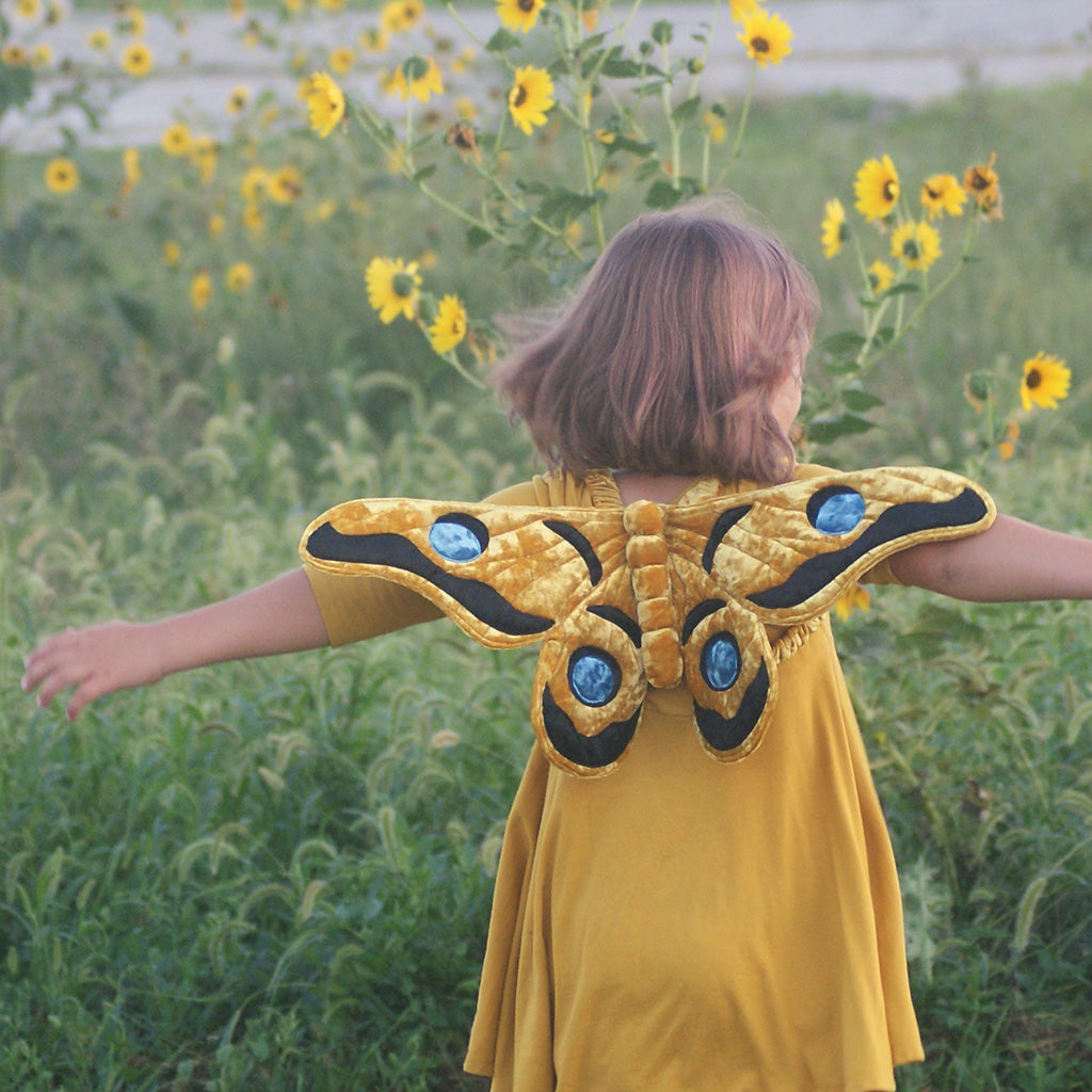 Gum Emperor Butterfly Wings Sewing Pattern - Twig and Tale - PDF digital download 5