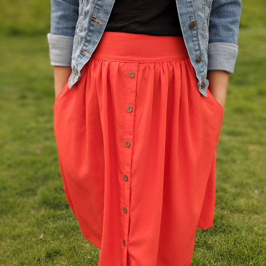 Meadow Skirt - PDF digital sewing pattern by Twig + Tale 20