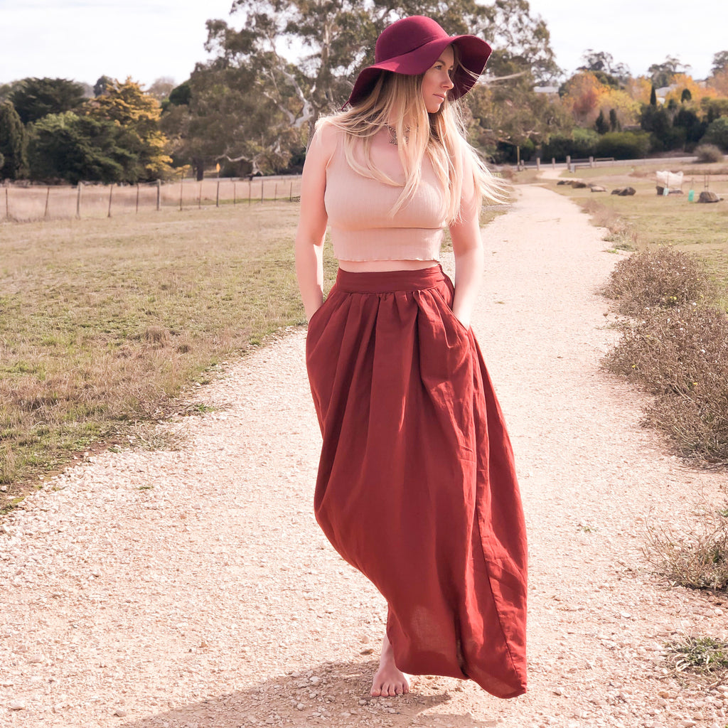 Meadow Skirt - PDF digital sewing pattern by Twig + Tale 10
