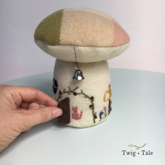 Toadstool Playhouse digital PDF sewing pattern by Twig and Tale 3