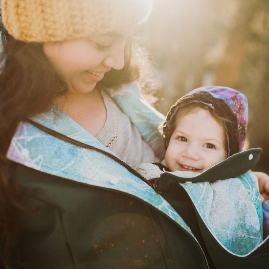 Nestledown Babywearing Coat for Women PDF sewing pattern by Twig + Tale