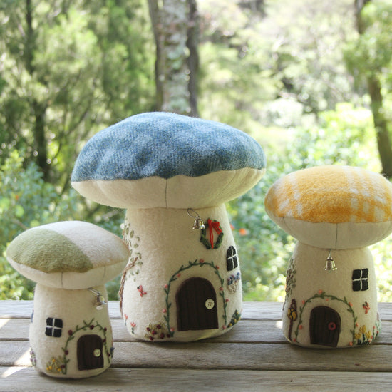Toadstool Playhouse digital PDF sewing pattern by Twig and Tale 17