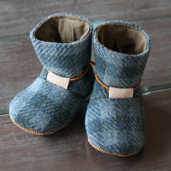 Tie Back Boots Digital Sewing pattern  by Twig + Tale  - Digital PDF Download - 1