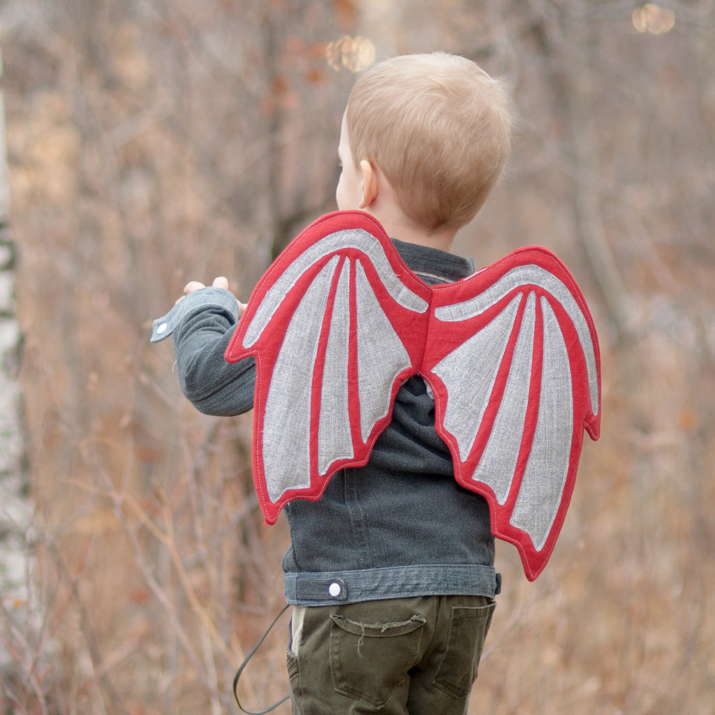 Dragon Wings PDF digital Sewing pattern by Twig + Tale 3