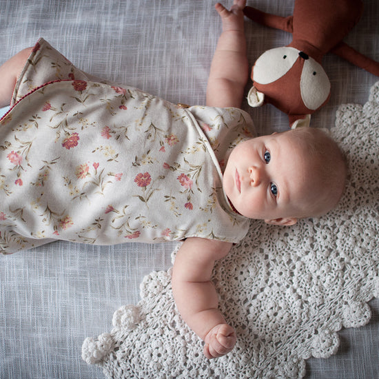 Baby - Dresses + Rompers Petal Wrap Dress and Tunic - PDF digital sewing pattern - by Twig and Tale