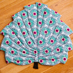 Doll Tropical Leaf Blanket PDF sewing pattern from Twig + Tale