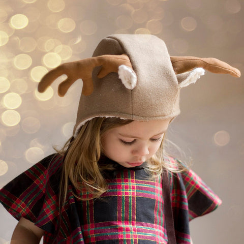 Children - Animal Reindeer Add-on PDF digital sewing pattern by Twig + Tale