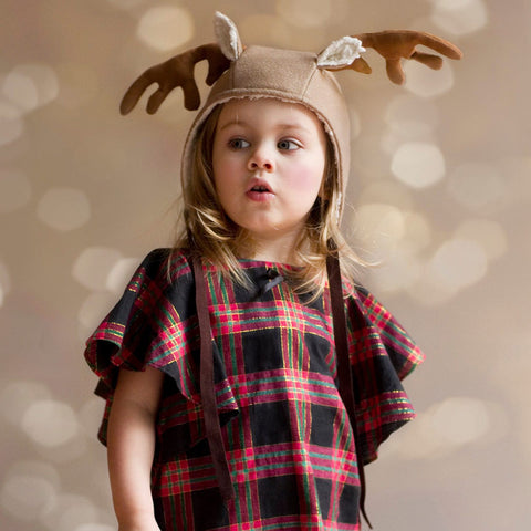 Children - Hats Reindeer Add-on PDF digital sewing pattern by Twig + Tale