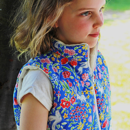 children's trailblazer vest pdf digital sewing pattern by Twig and Tale 2