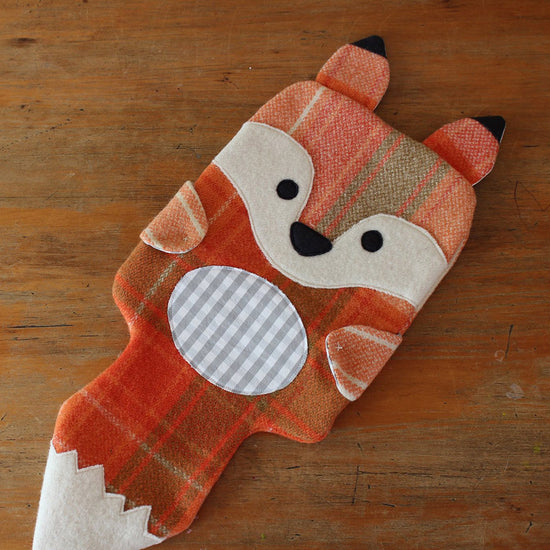 Animal Themed Hot water bottle covers -Twig + Tale - Digital PDF sewing pattern 7