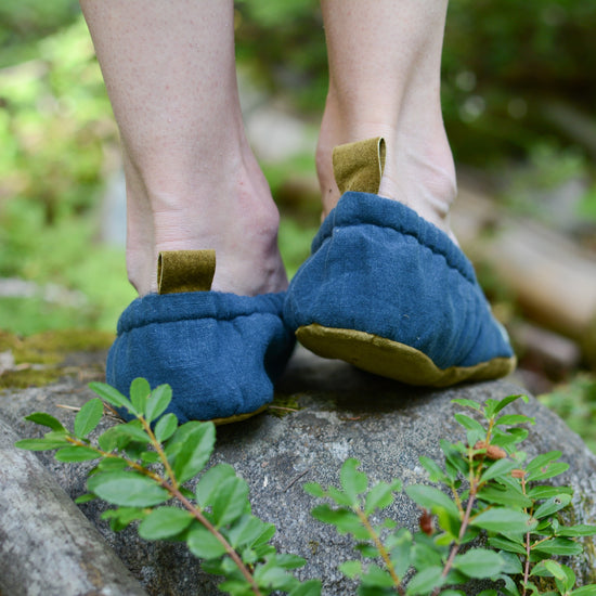 Wayfarer Shoes for Adults sewing pattern from Twig + Tale