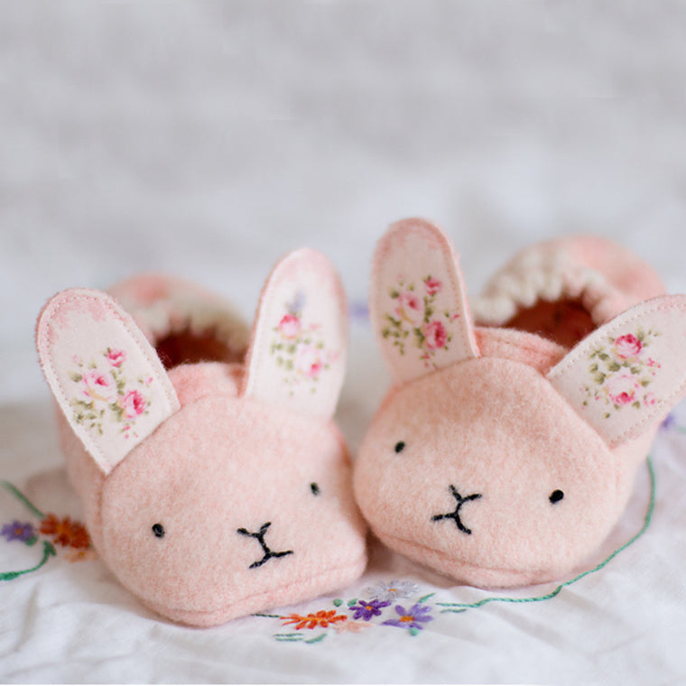 Baby Animal Shoes - Twig + Tale  Digital PDF sewing pattern