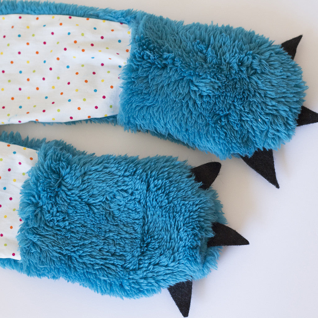 Wild Things Hooded Scarf + Tails - Twig + Tale  - Digital PDF Download - 9