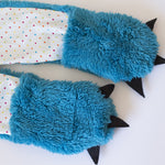 Animal themed Hooded Scarf + Tails - Twig + Tale  - Digital PDF sewing pattern - 5