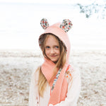 Girls - Animal Animal themed Hooded Scarf + Tails - Twig + Tale  - Digital PDF sewing pattern - 9