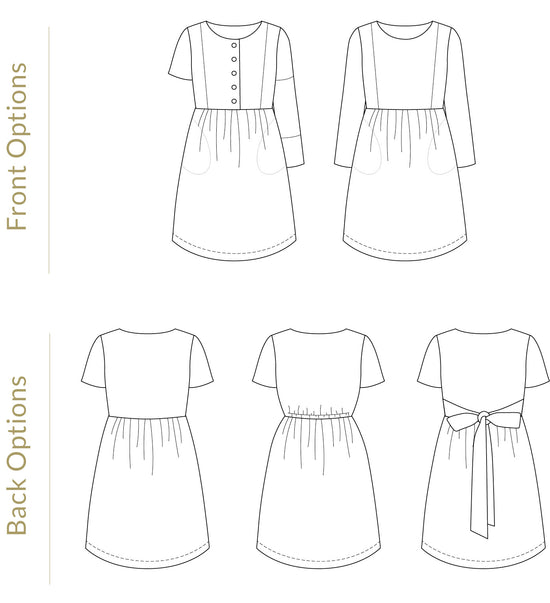 Fable Dress - Adult ~ Digital Pattern + Video Class