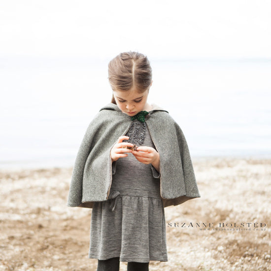 Traveller Cape PDF digital sewing pattern by Twig + Tale 5