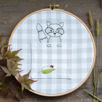 Woodland Animal Bundle - PDF digital Embroidery pattern by Twig and Tale 5