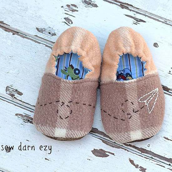 Wayfarer Shoes PDF digital sewing pattern by Twig + Tale - 5