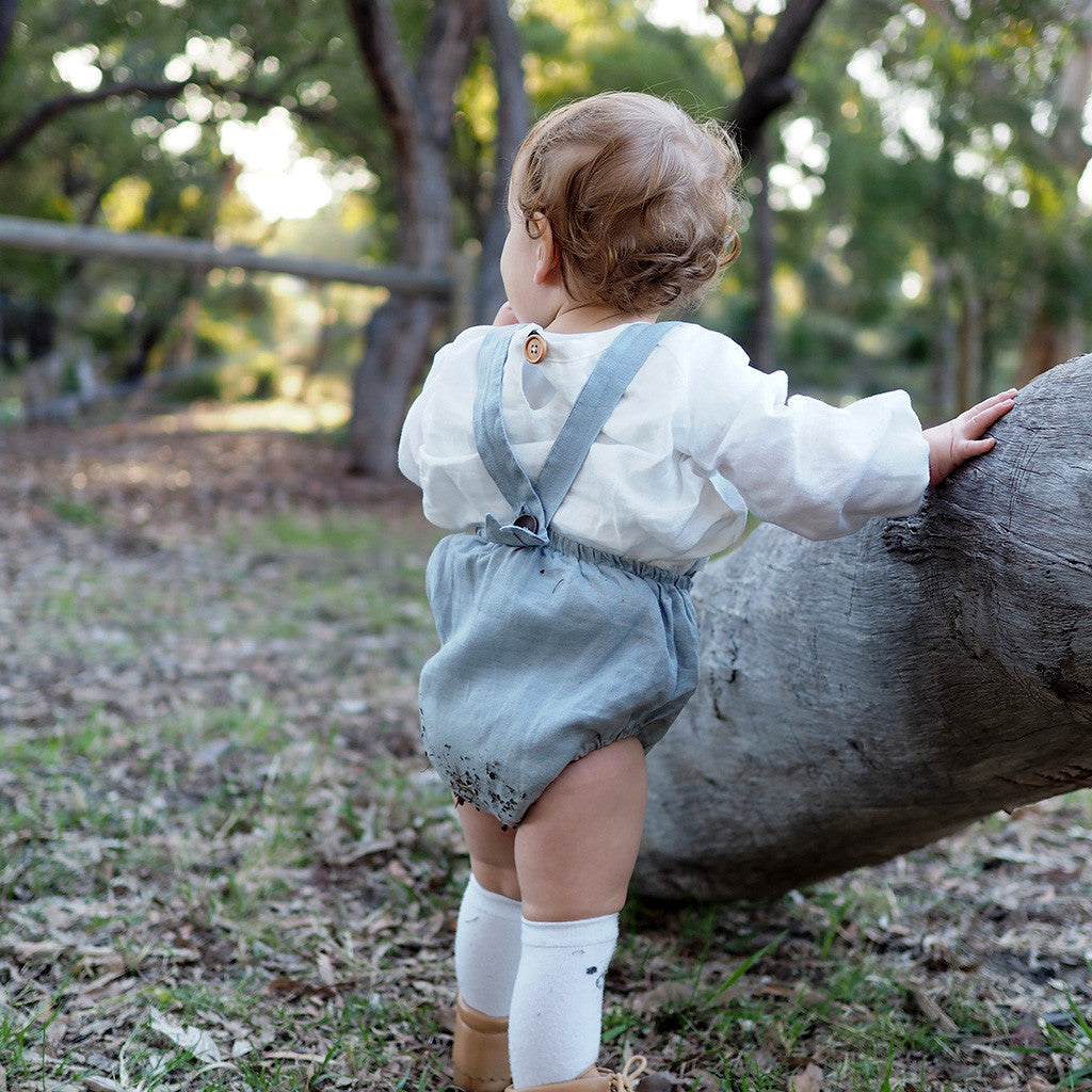 Baby Driftwood Blouse + Dress