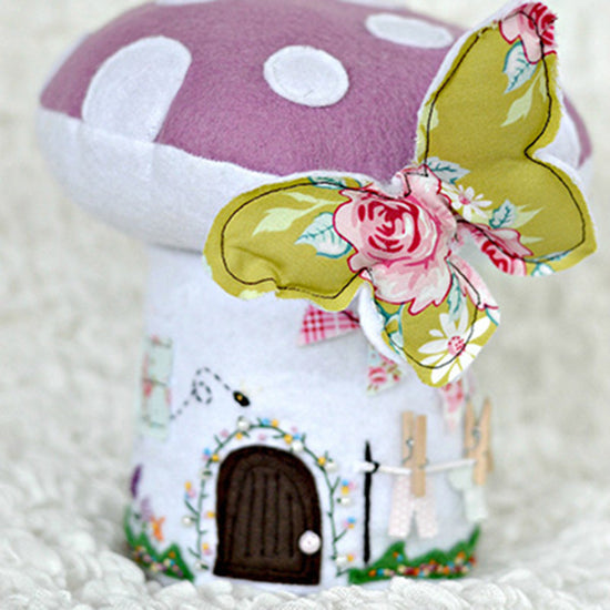 Toadstool Playhouse digital PDF sewing pattern by Twig and Tale 5