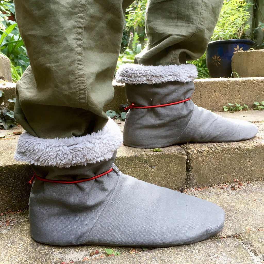 Tie Back Boots - Adult sizes - PDF digital sewing pattern by Twig + Tale  7