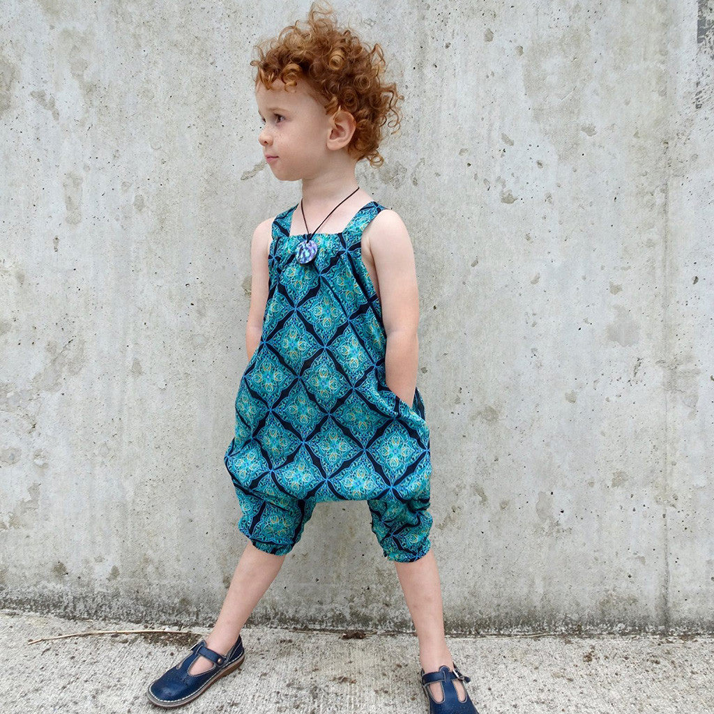 Barefoot romper - Twig and Tale - PDF digital sewing pattern 33