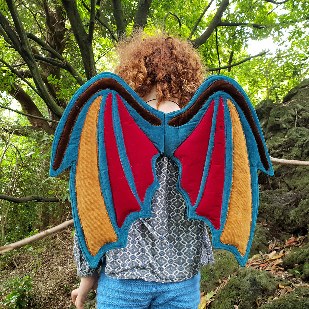 Dragon Wings PDF digital Sewing pattern by Twig + Tale 4