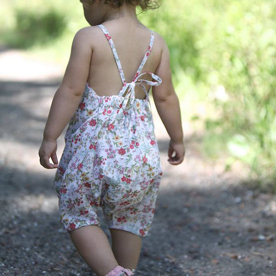 Barefoot romper - Twig and Tale - PDF digital sewing pattern 22