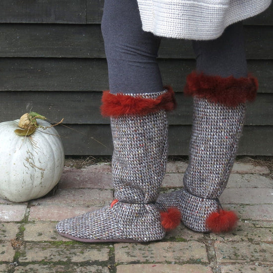 Tie Back Boots - Adult sizes - PDF digital sewing pattern by Twig + Tale  10