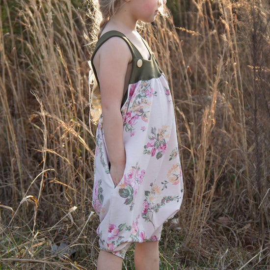 Barefoot romper - Twig and Tale - PDF digital sewing pattern 26