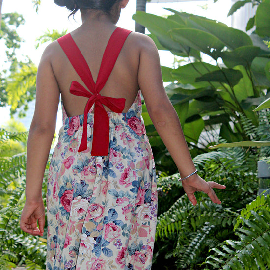 Barefoot Dress PDF digital sewing pattern by Twig + Tale 16