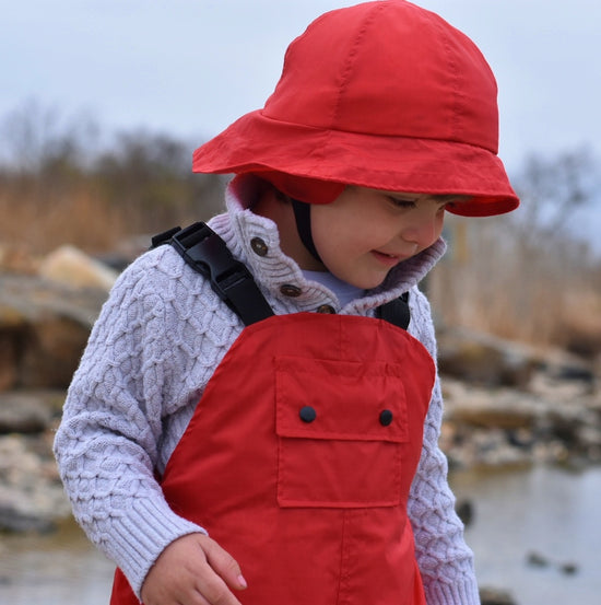 Sou'Wester Rain Hat PDF Sewing Pattern from Twig + Tale