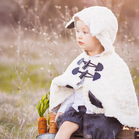 Baby - Outerwear Animal Themed Cape - Twig + Tale  - Digital PDF sewing pattern - 17