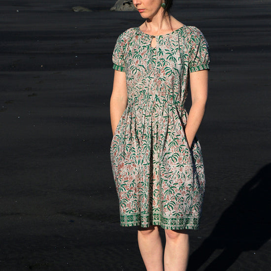 Women's Driftwood Blouse + dress - PDF digital sewing pattern by Twig + Tale 11