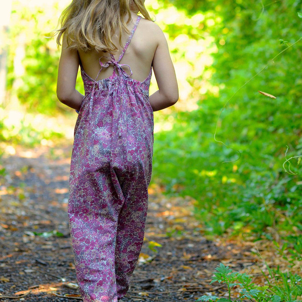 Barefoot romper - Twig and Tale - PDF digital sewing pattern 4