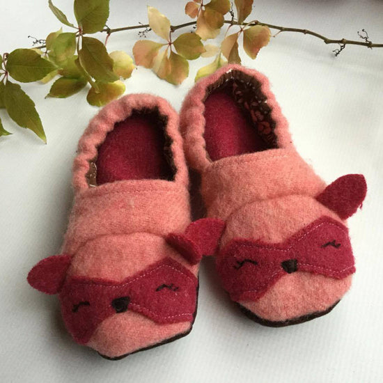 Animal Themed Slippers - Twig + Tale  - Digital PDF sewing pattern 5