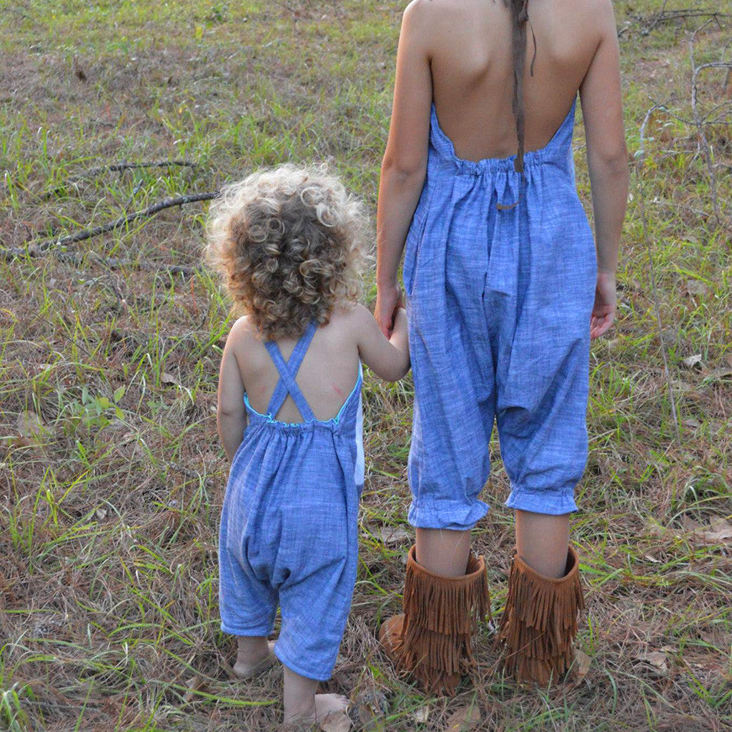 Barefoot romper - Twig and Tale - PDF digital sewing pattern 32