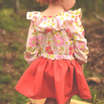 Baby driftwood blouse and dress - Twig and Tale - PDF digital sewing pattern 13