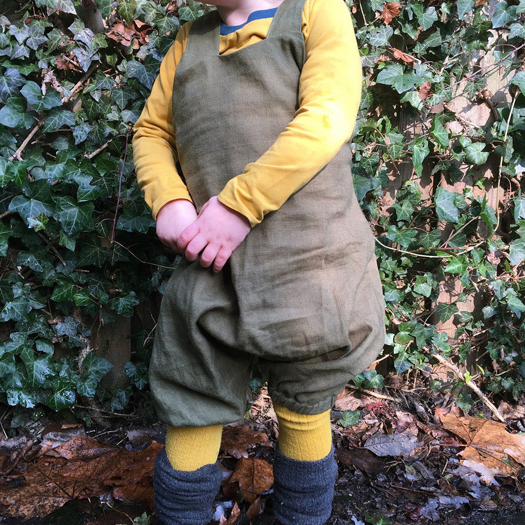 Barefoot romper - Twig and Tale - PDF digital sewing pattern 3