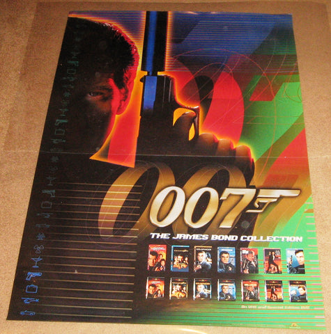 007 James Bond Collection Movie Poster 27x40 used